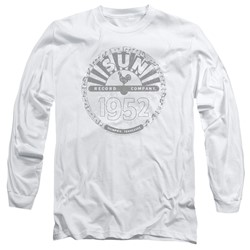 Sun Records - Mens Crusty Logo Long Sleeve T-Shirt