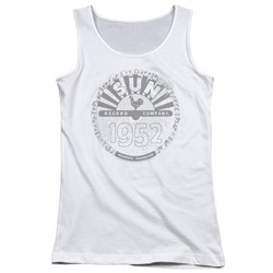 Sun Records - Juniors Crusty Logo Tank Top