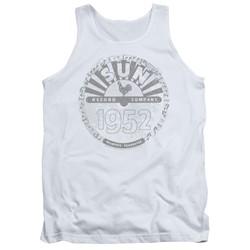 Sun Records - Mens Crusty Logo Tank Top