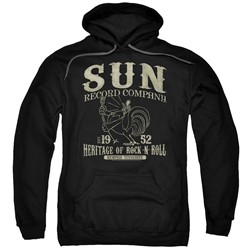 Sun Records - Mens Rockabilly Bird Pullover Hoodie