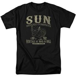 Sun Records - Mens Rockabilly Bird T-Shirt