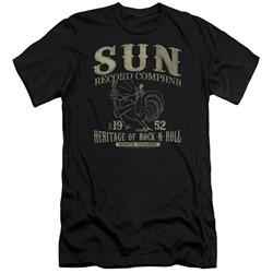 Sun Records - Mens Rockabilly Bird Slim Fit T-Shirt