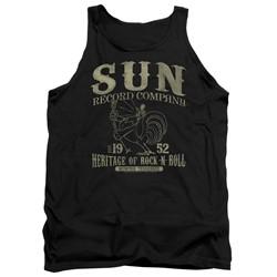 Sun Records - Mens Rockabilly Bird Tank Top