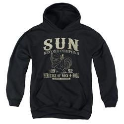 Sun Records - Youth Rockabilly Bird Pullover Hoodie