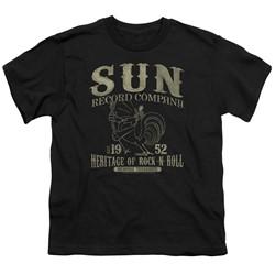Sun Records - Big Boys Rockabilly Bird T-Shirt