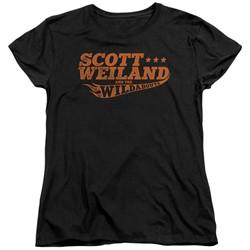 Scott Weiland - Womens Logo T-Shirt