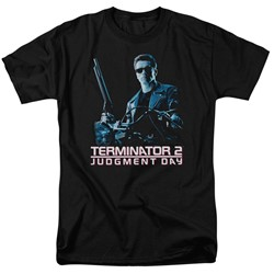 Terminator 2 - Mens Poster T-Shirt