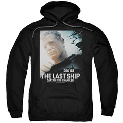 The Last Ship - Mens Captain Pullover Hoodie