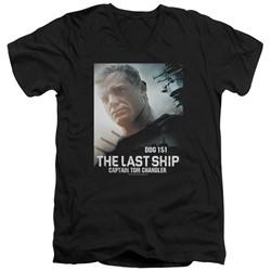 The Last Ship - Mens Captain V-Neck T-Shirt