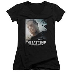The Last Ship - Womens Captain V-Neck T-Shirt