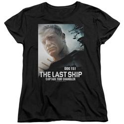 The Last Ship - Womens Captain T-Shirt