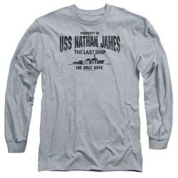 The Last Ship - Mens Uss Nathan James Long Sleeve T-Shirt
