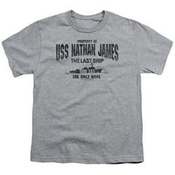 The Last Ship - Big Boys Uss Nathan James T-Shirt