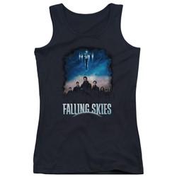 Falling Skies - Juniors Main Players Tank Top