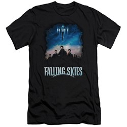 Falling Skies - Mens Main Players Slim Fit T-Shirt