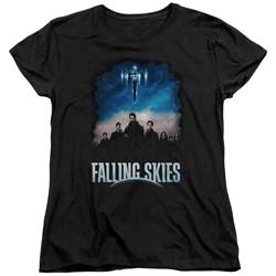 Falling Skies - Womens Main Players T-Shirt