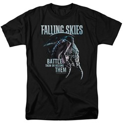 Falling Skies - Mens Battle Or Become T-Shirt