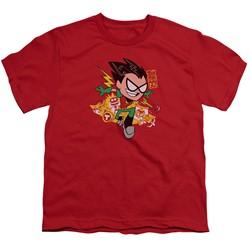 Teen Titans Go - Big Boys Robin T-Shirt