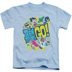 Teen Titans Go - Little Boys Go T-Shirt