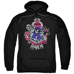 Teen Titans Go - Mens Raven Pullover Hoodie