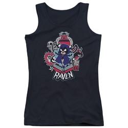 Teen Titans Go - Juniors Raven Tank Top