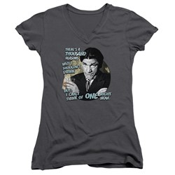 Three Stooges - Womens Drink V-Neck T-Shirt