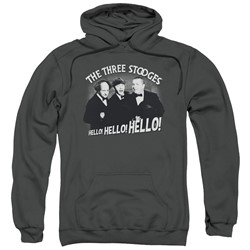 Three Stooges - Mens Hello Again Pullover Hoodie