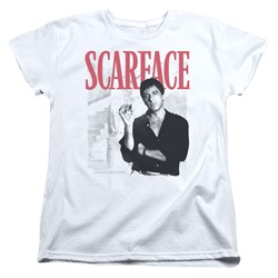 Scarface - Womens Stairway T-Shirt