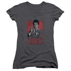 Scarface - Womens Tony V-Neck T-Shirt