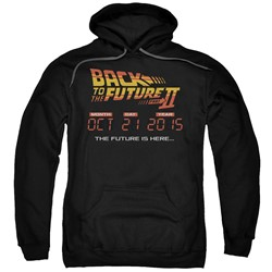 Back To The Future Ii - Mens Future Is Here Pullover Hoodie