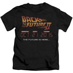Back To The Future Ii - Little Boys Future Is Here T-Shirt
