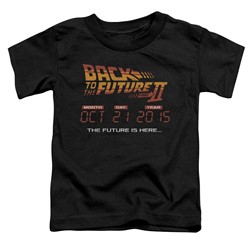 Back To The Future Ii - Toddlers Future Is Here T-Shirt