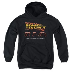 Back To The Future Ii - Youth Future Is Here Pullover Hoodie