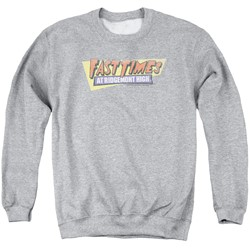 Fast Times Ridgemont High - Mens Distressed Logo Sweater
