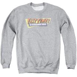 Fast Times Ridgemont High - Mens Distressed Logo Sweater