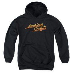 American Grafitti - Youth Neon Logo Pullover Hoodie
