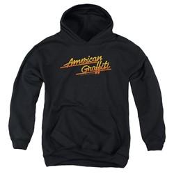 American Grafitti - Youth Neon Logo Pullover Hoodie