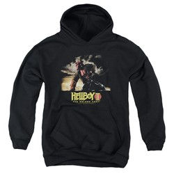Hellboy Ii - Youth Poster Art Pullover Hoodie