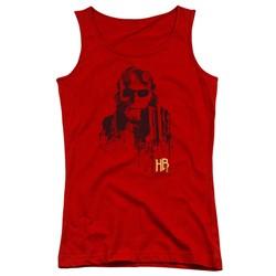 Hellboy Ii - Juniors Splatter Gun Tank Top