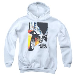 Tokyo Drift - Youth Poster Pullover Hoodie