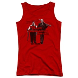 Hot Fuzz - Juniors Day's Work Tank Top