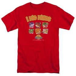 Land Before Time - Mens I Dig Dinos T-Shirt