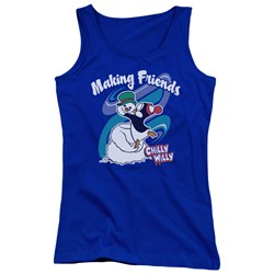 Chilly Willy - Juniors Making Friends Tank Top