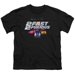 2 Fast 2 Furious - Big Boys Logo T-Shirt