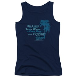 Fast Times Ridgemont High - Juniors All I Need Tank Top