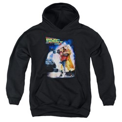 Back To The Future Ii - Youth Poster Pullover Hoodie