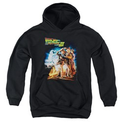 Back To The Future Iii - Youth Poster Pullover Hoodie