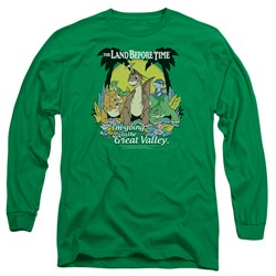 Land Before Time - Mens Great Valley Long Sleeve T-Shirt