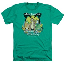 Land Before Time - Mens Great Valley Heather T-Shirt