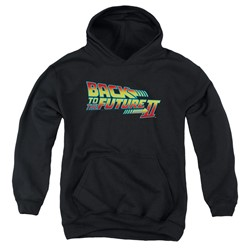 Back To The Future Ii - Youth Logo Pullover Hoodie